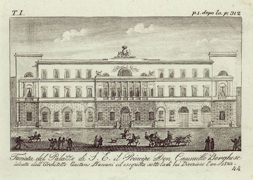 Palazzo Borghese in 1822